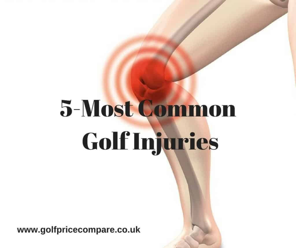 5-most common golf injuries
