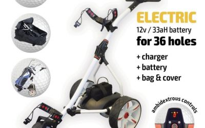 cheapest electric golf trolley in the uk