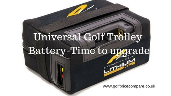 universal golf trolley battery
