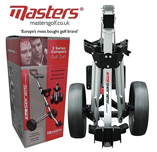 masters golf trolley