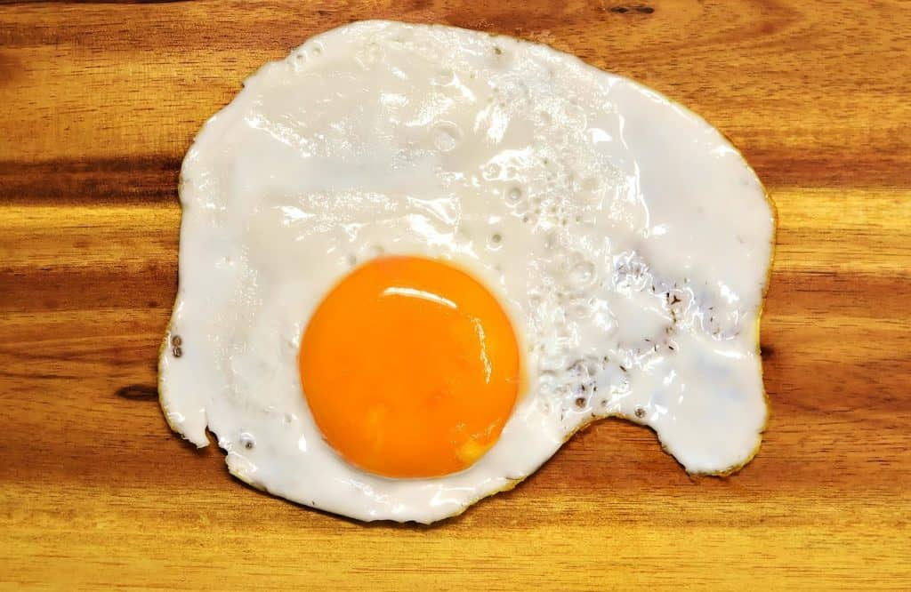 fried egg image