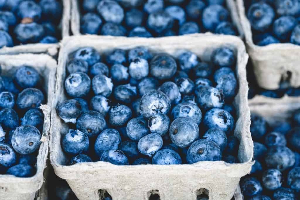 Blueberries super foods for golfers