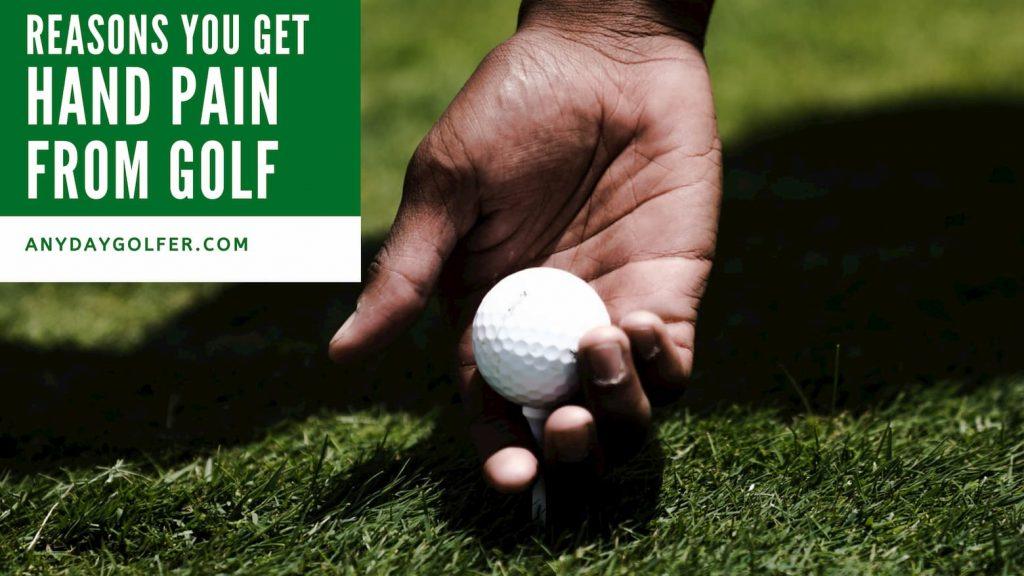 hand pain golf