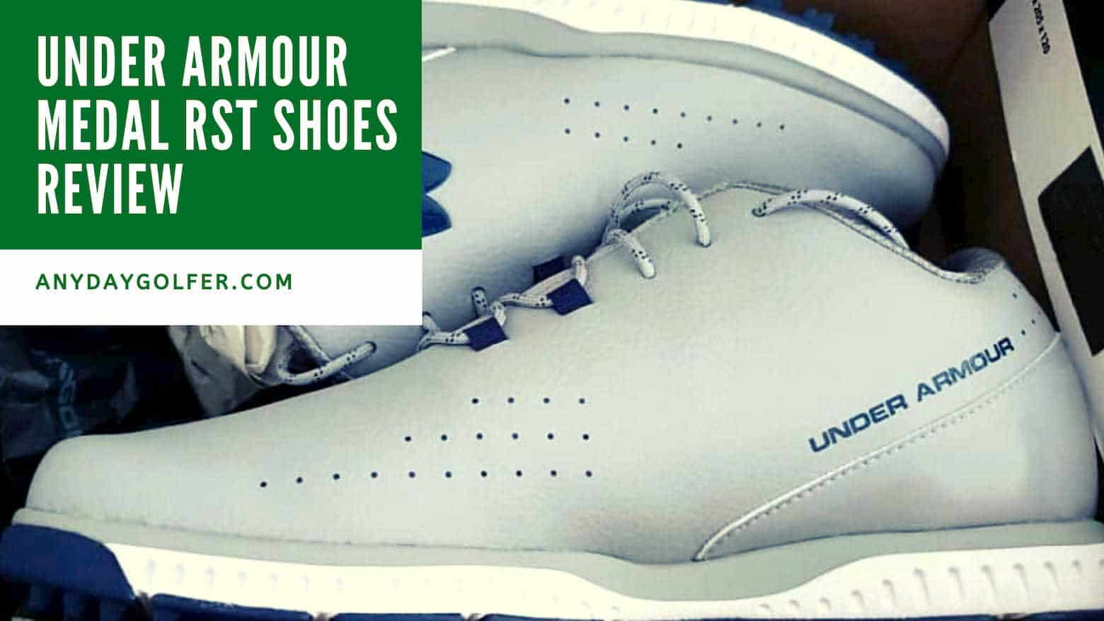 Under Armour Medal RST Shoes Review \u0026 Guide