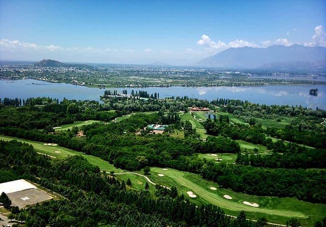 Royal Springs Golf Club in Kashmir