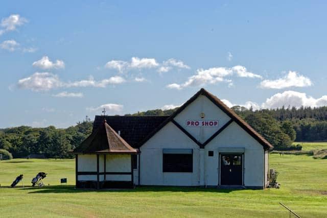 golf course shop