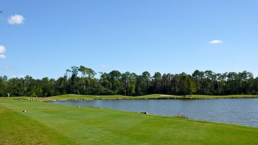 Hole No. 10 at Eastwood Golf Course