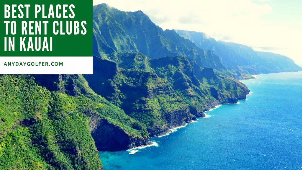 golf club rental Kauai