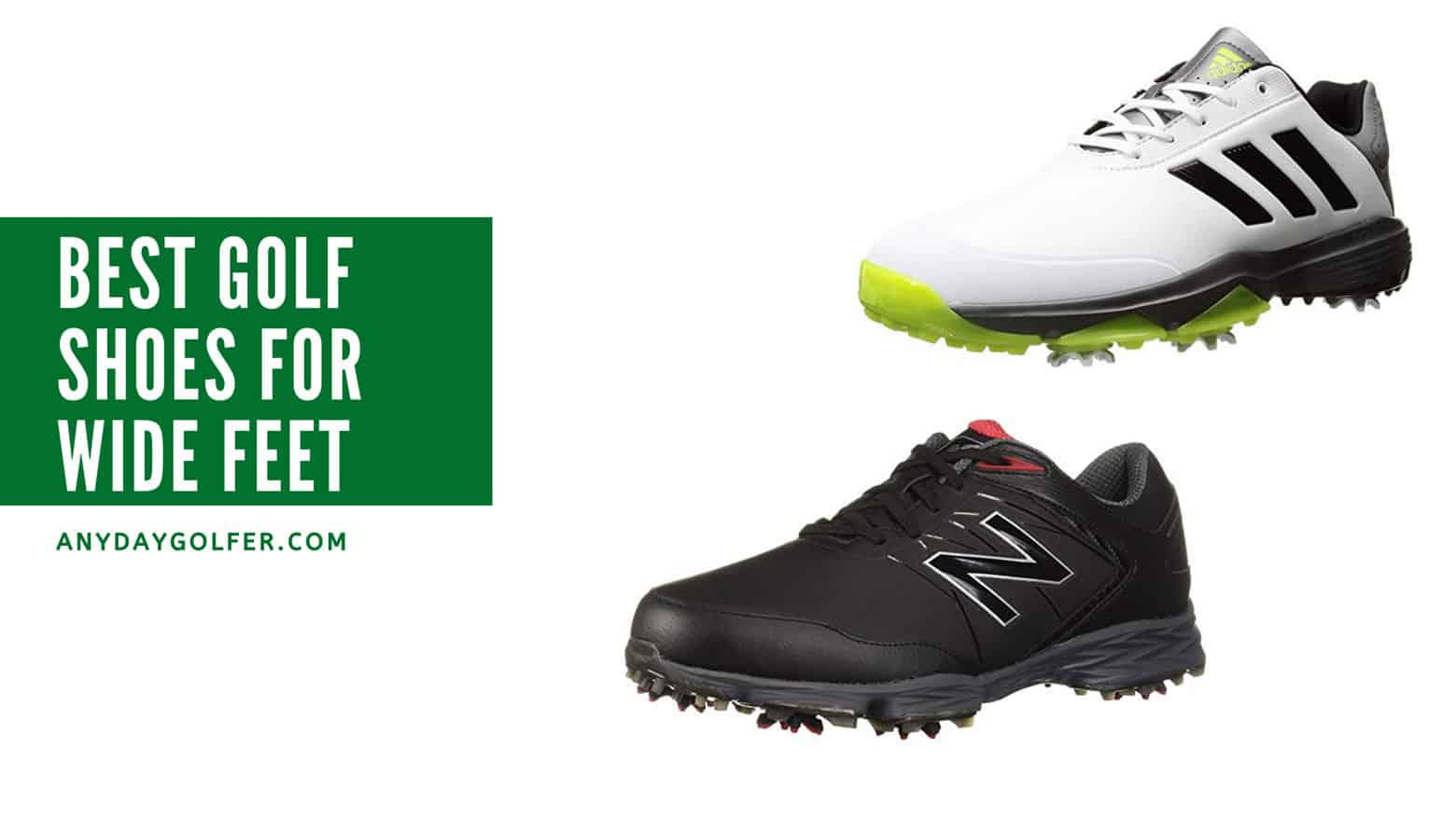 Best Golf Shoes For Wide Feet in 2020