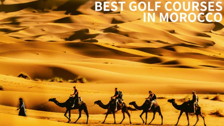best golf courses morocco