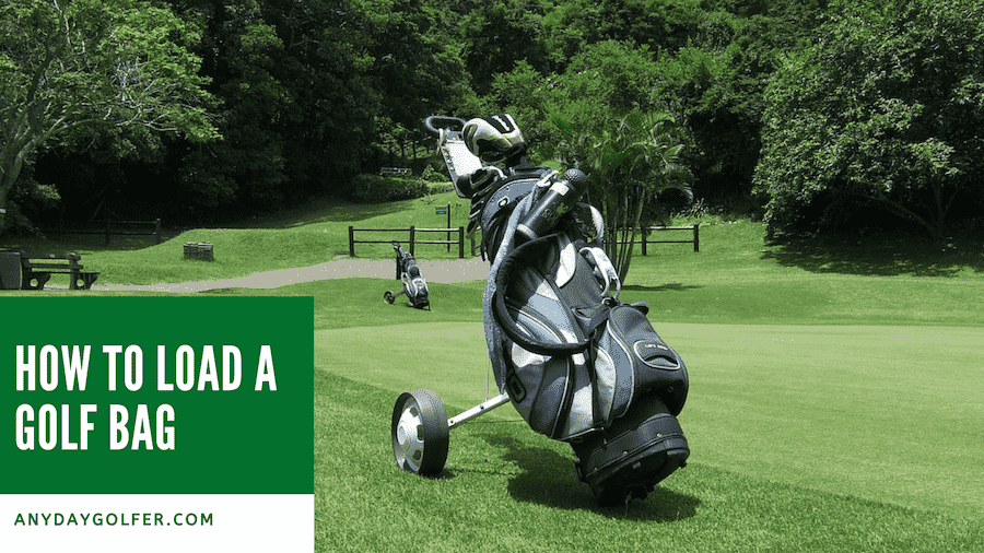 how to load a golf bag