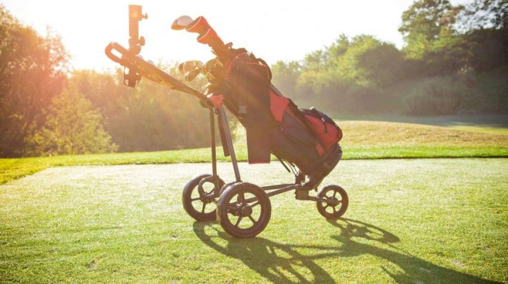 best golf trolley
